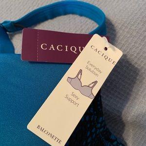 Cacique Sexy Support Balconette Bra